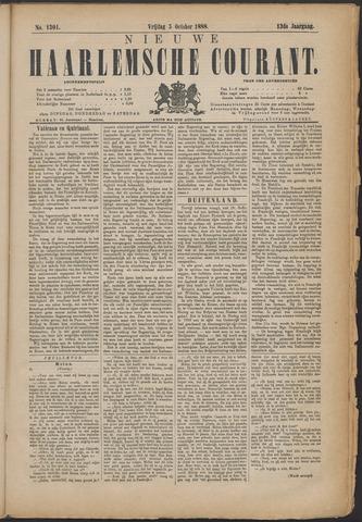 Nieuwe Haarlemsche Courant 1888-10-05