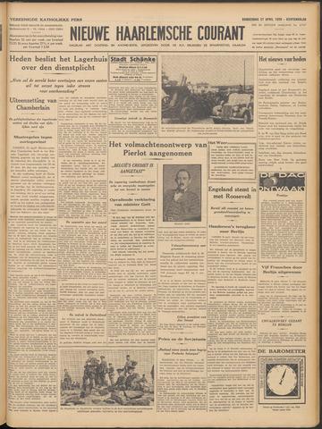 Nieuwe Haarlemsche Courant 1939-04-27