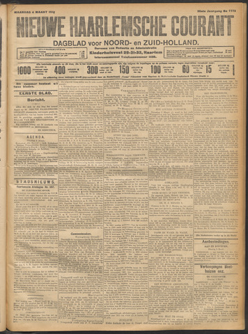 Nieuwe Haarlemsche Courant 1912-03-04