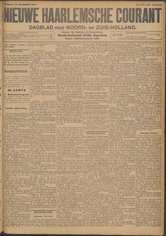 Nieuwe Haarlemsche Courant 1907-12-24