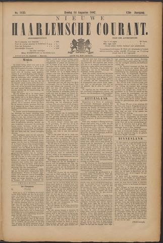 Nieuwe Haarlemsche Courant 1887-08-14