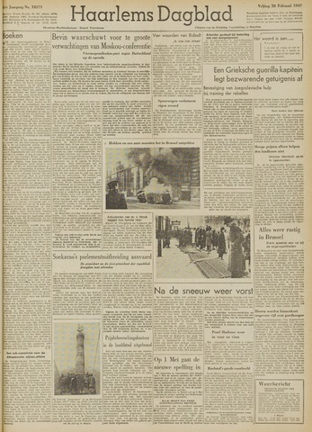 Haarlem's Dagblad 1947-02-28