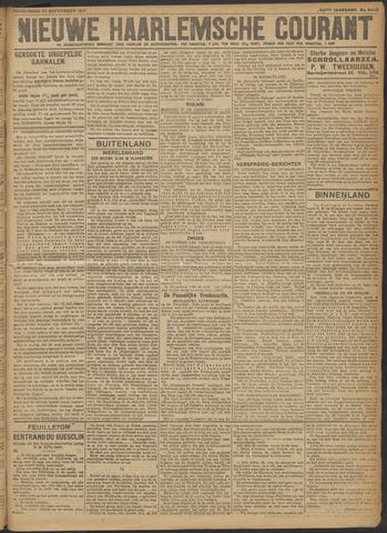 Nieuwe Haarlemsche Courant 1917-09-27