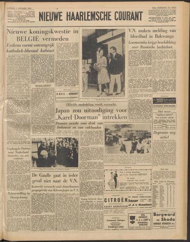 Nieuwe Haarlemsche Courant 1960-09-03