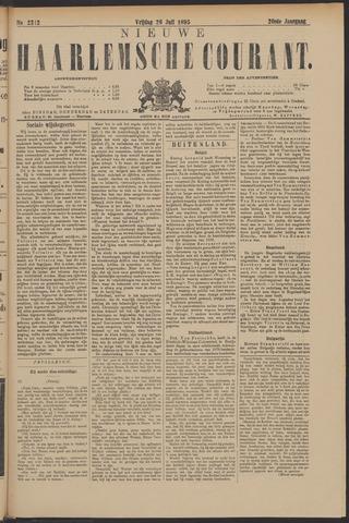 Nieuwe Haarlemsche Courant 1895-07-26