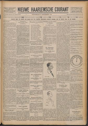 Nieuwe Haarlemsche Courant 1930-09-25