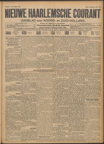 Nieuwe Haarlemsche Courant 1910-02-25