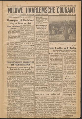 Nieuwe Haarlemsche Courant 1945-09-28