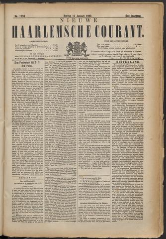 Nieuwe Haarlemsche Courant 1892-01-17