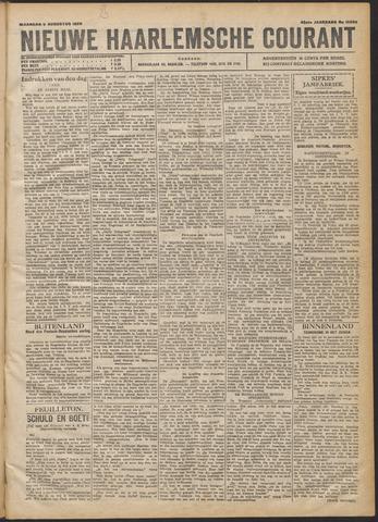 Nieuwe Haarlemsche Courant 1920-08-09