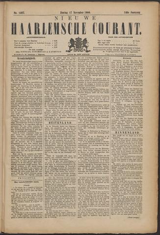 Nieuwe Haarlemsche Courant 1889-11-17