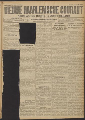 Nieuwe Haarlemsche Courant 1914-12-31