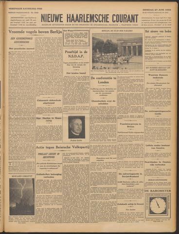 Nieuwe Haarlemsche Courant 1933-06-27