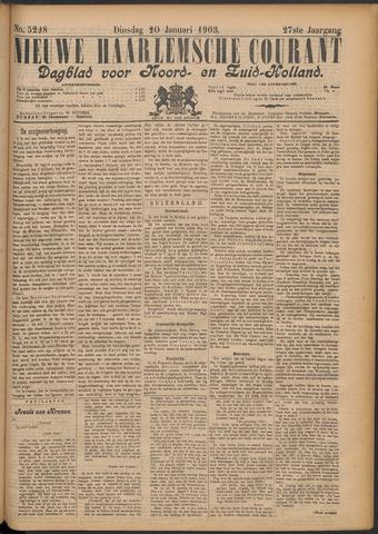 Nieuwe Haarlemsche Courant 1903-01-20