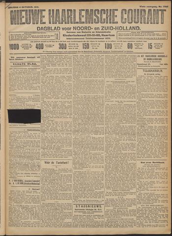 Nieuwe Haarlemsche Courant 1912-10-04