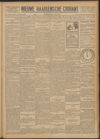 Nieuwe Haarlemsche Courant 1928-05-23