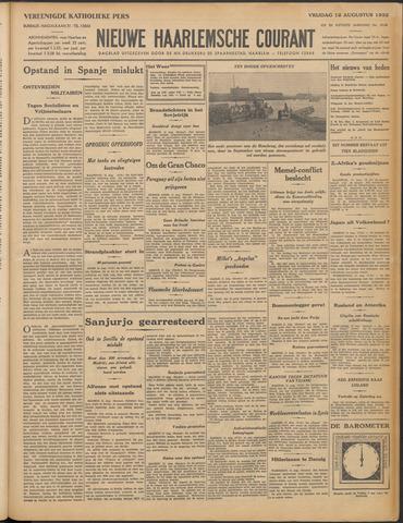 Nieuwe Haarlemsche Courant 1932-08-12