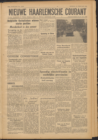 Nieuwe Haarlemsche Courant 1946-02-19