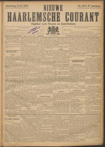 Nieuwe Haarlemsche Courant 1906-10-25