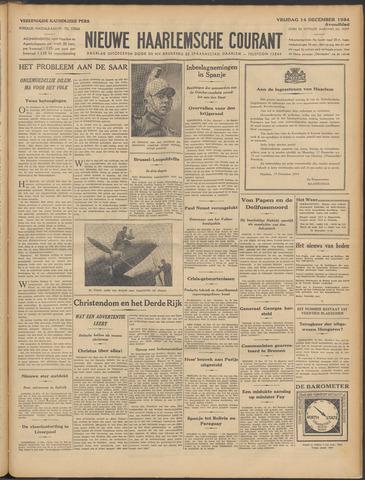 Nieuwe Haarlemsche Courant 1934-12-14