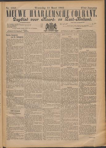 Nieuwe Haarlemsche Courant 1903-03-11