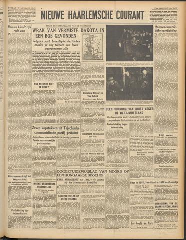 Nieuwe Haarlemsche Courant 1949-11-22