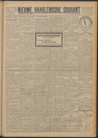 Nieuwe Haarlemsche Courant 1924-04-14