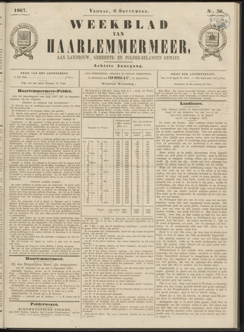 Weekblad van Haarlemmermeer 1867-09-06