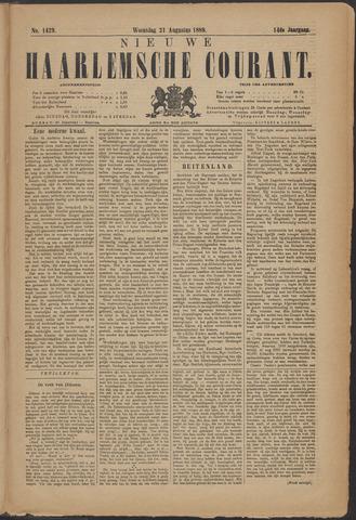 Nieuwe Haarlemsche Courant 1889-08-21