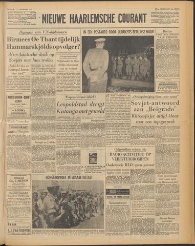 Nieuwe Haarlemsche Courant 1961-09-23