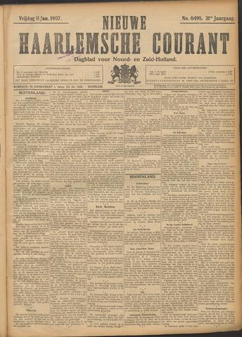 Nieuwe Haarlemsche Courant 1907-01-11