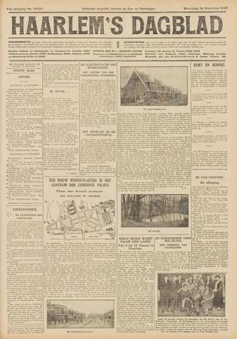 Haarlem's Dagblad 1926-11-24