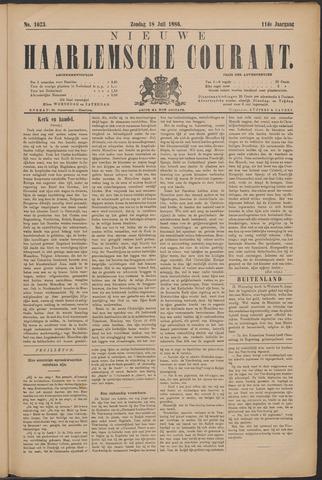 Nieuwe Haarlemsche Courant 1886-07-18