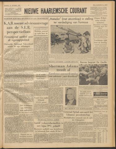 Nieuwe Haarlemsche Courant 1958-09-23