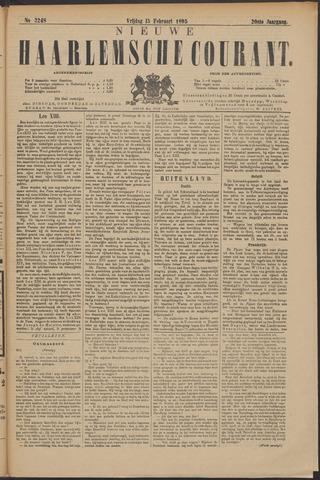 Nieuwe Haarlemsche Courant 1895-02-15