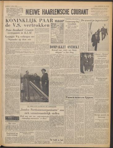 Nieuwe Haarlemsche Courant 1952-04-01