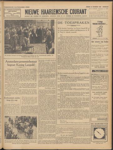 Nieuwe Haarlemsche Courant 1938-11-22