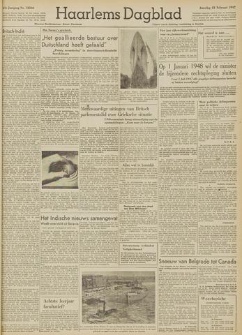 Haarlem's Dagblad 1947-02-22