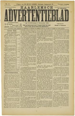 Haarlemsch Advertentieblad 1898-11-02