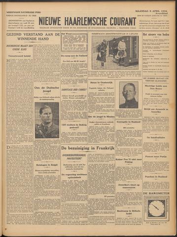 Nieuwe Haarlemsche Courant 1934-04-09