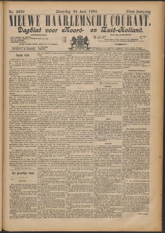 Nieuwe Haarlemsche Courant 1905-06-24