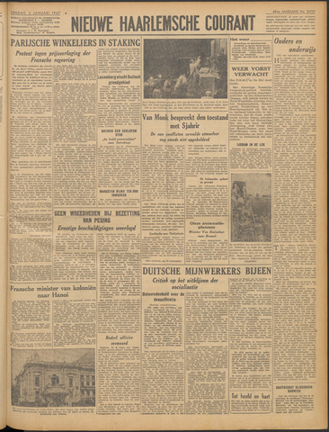 Nieuwe Haarlemsche Courant 1947-01-03