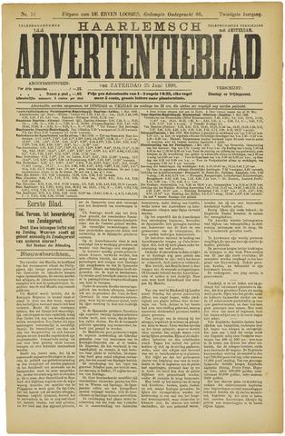 Haarlemsch Advertentieblad 1898-06-25