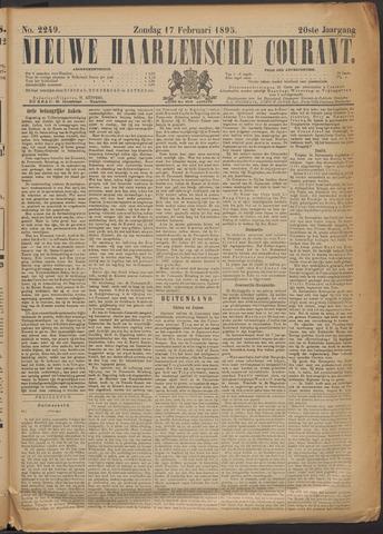 Nieuwe Haarlemsche Courant 1895-02-17