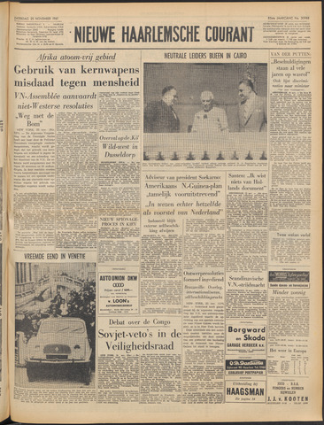 Nieuwe Haarlemsche Courant 1961-11-25