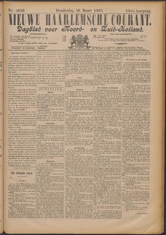Nieuwe Haarlemsche Courant 1905-03-16