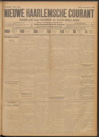 Nieuwe Haarlemsche Courant 1910-09-05