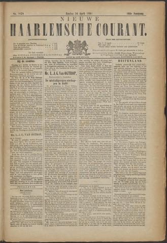 Nieuwe Haarlemsche Courant 1891-04-26