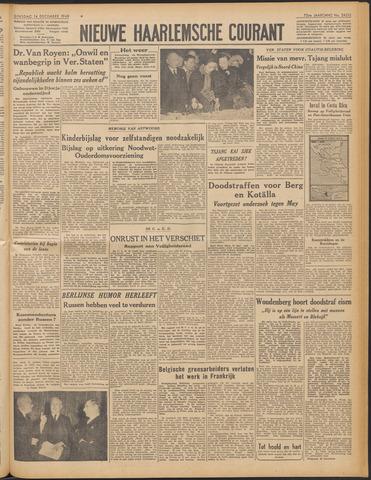 Nieuwe Haarlemsche Courant 1948-12-14