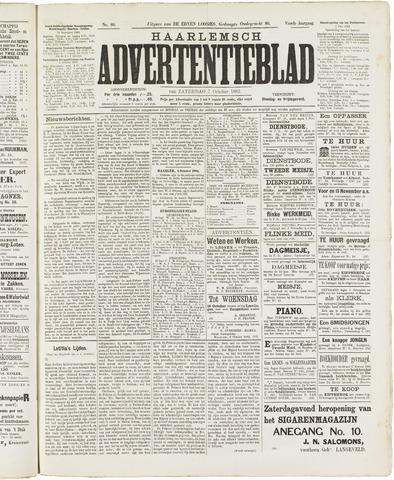Haarlemsch Advertentieblad 1882-10-07